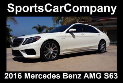2016 Mercedes-Benz  AMG S63 SEDAN  - Click to see full-size photo viewer
