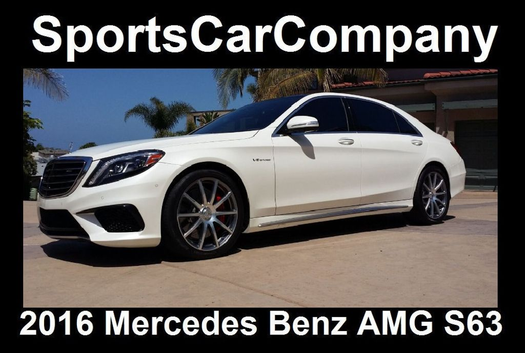 2016 Mercedes-Benz S-Class AMG S63 SEDAN  - 16388139 - 1