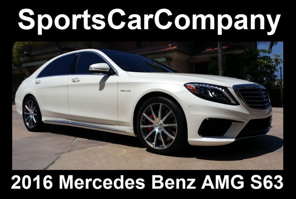 2016 Mercedes-Benz S-Class AMG S63 SEDAN  - 16388139 - 2