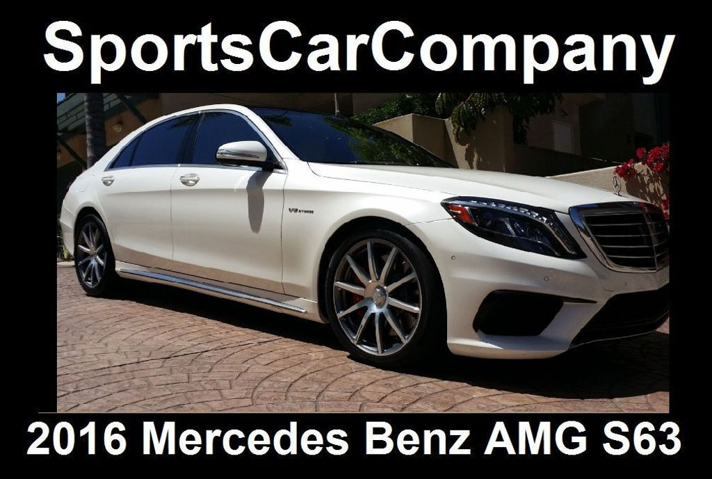 2016 Mercedes-Benz S-Class AMG S63 SEDAN  - 16388139 - 35