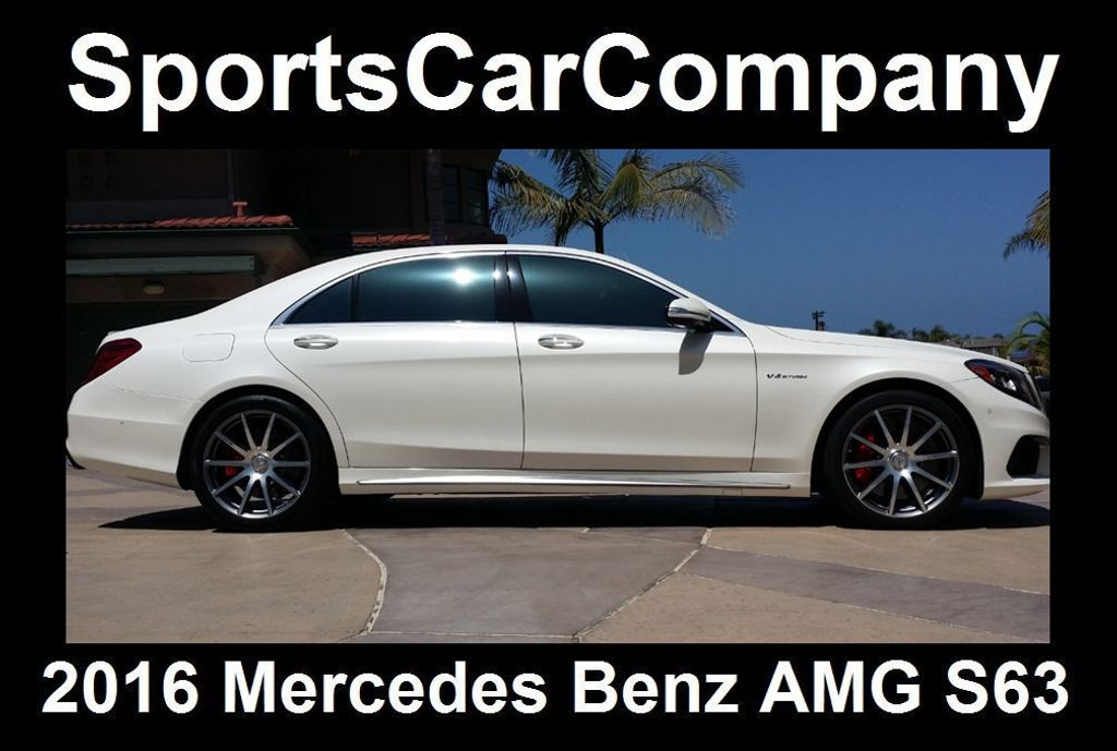 2016 Mercedes-Benz S-Class AMG S63 SEDAN  - 16388139 - 3