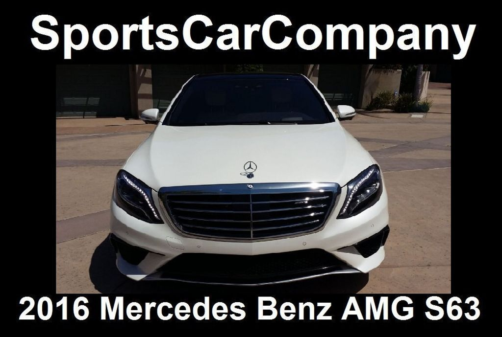 2016 Mercedes-Benz S-Class AMG S63 SEDAN  - 16388139 - 4