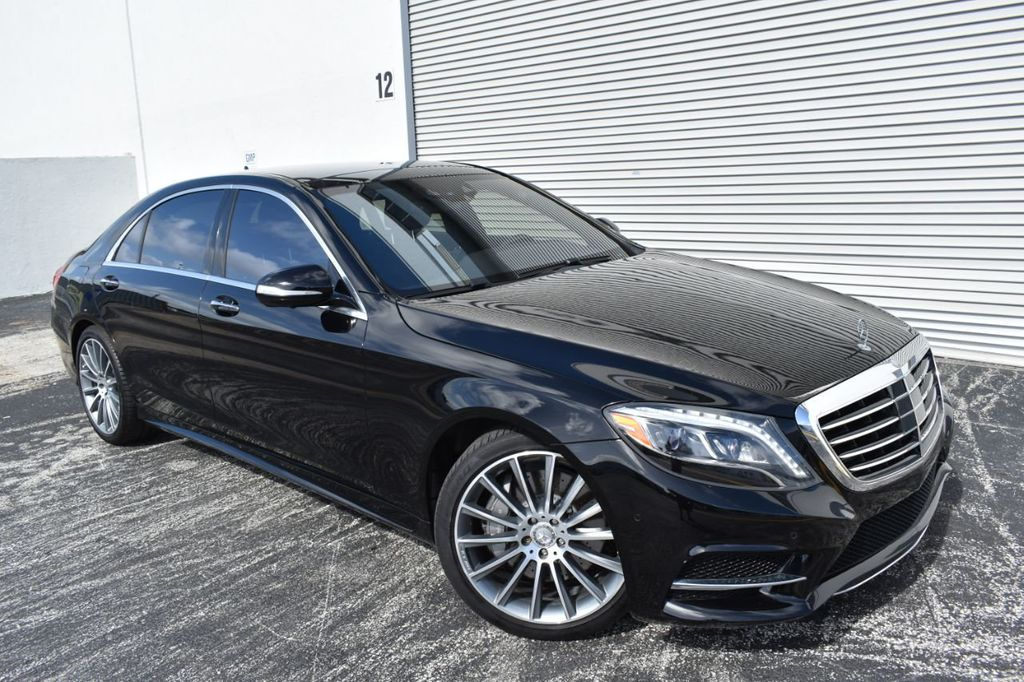 2016 Mercedes Benz S Cl S550 P1 Pkg Sport Warmth