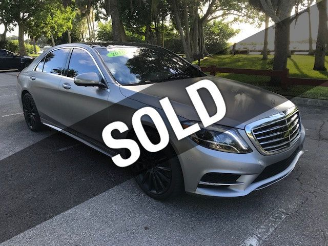 2016 Mercedes-Benz S-Class SPECIAL GRAND EDITION
