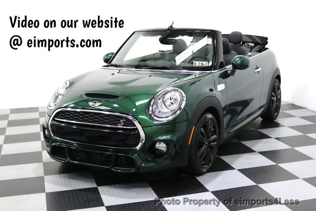 2016 MINI Cooper S Convertible CERTIFIED COOPER S John Cooper Works Package - 17906800 - 0