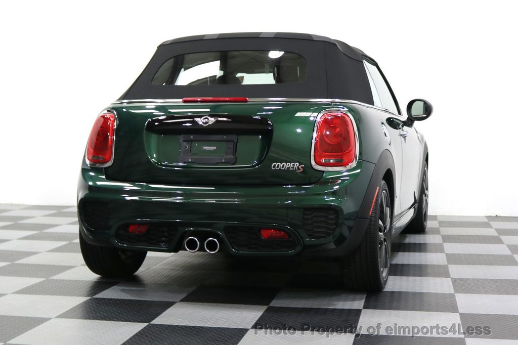 2016 MINI Cooper S Convertible CERTIFIED COOPER S John Cooper Works Package - 17906800 - 17