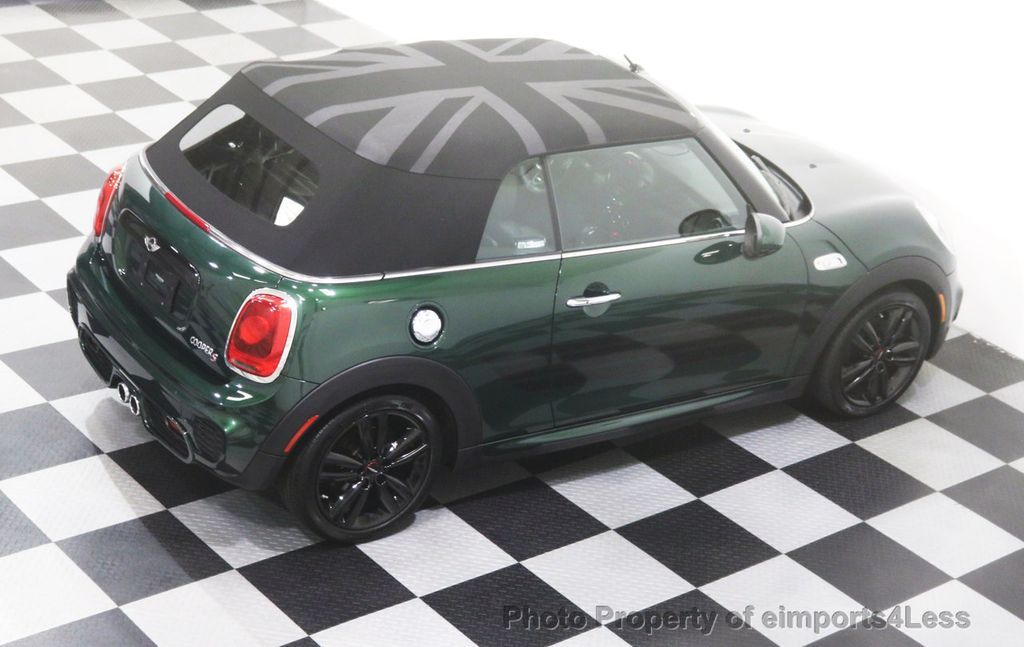 2016 MINI Cooper S Convertible CERTIFIED COOPER S John Cooper Works Package - 17906800 - 1