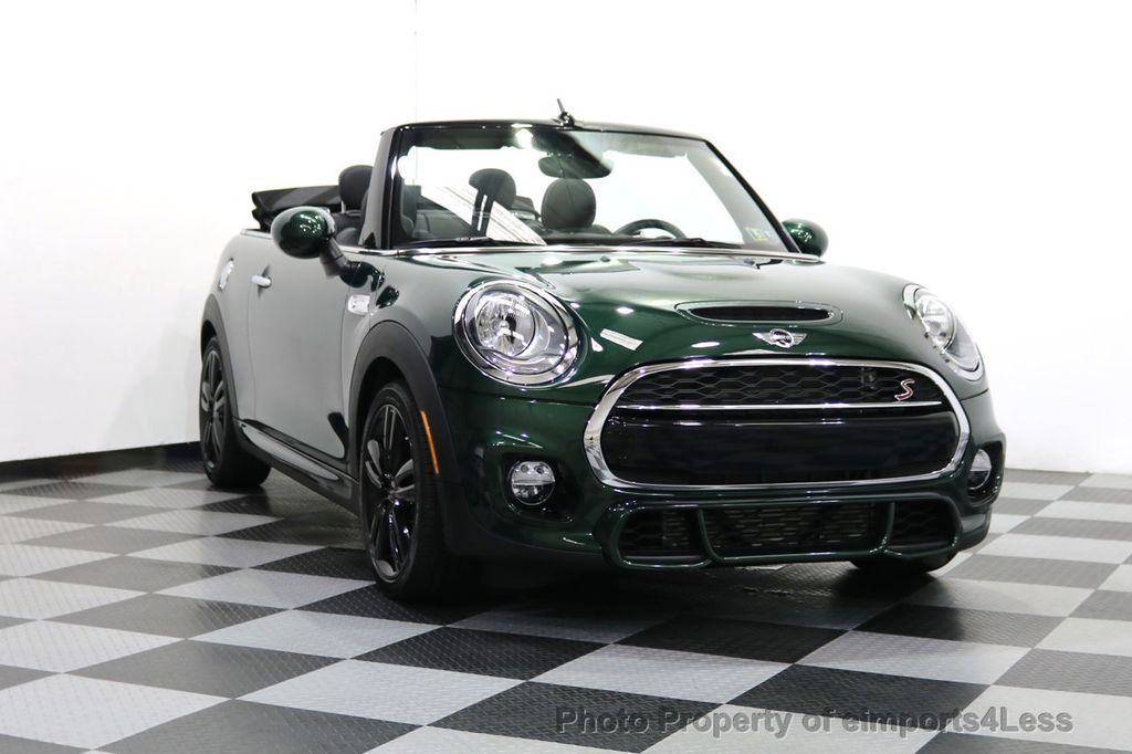 2016 MINI Cooper S Convertible CERTIFIED COOPER S John Cooper Works Package - 17906800 - 28