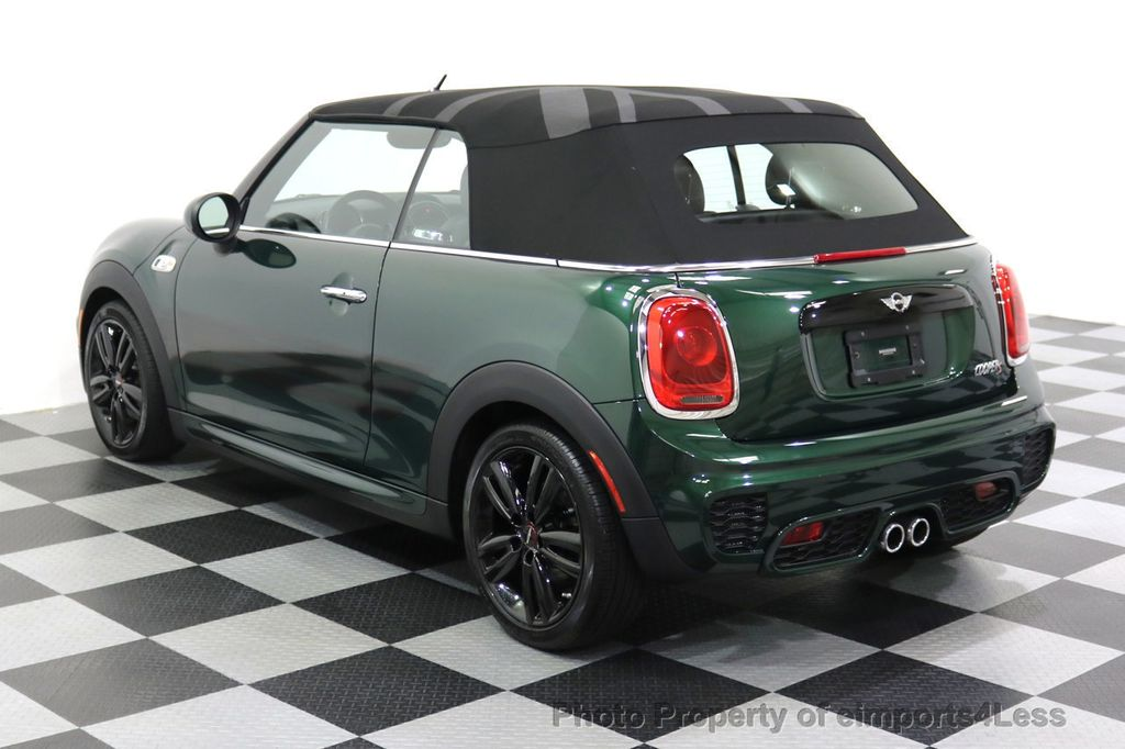 2016 MINI Cooper S Convertible CERTIFIED COOPER S John Cooper Works Package - 17906800 - 2
