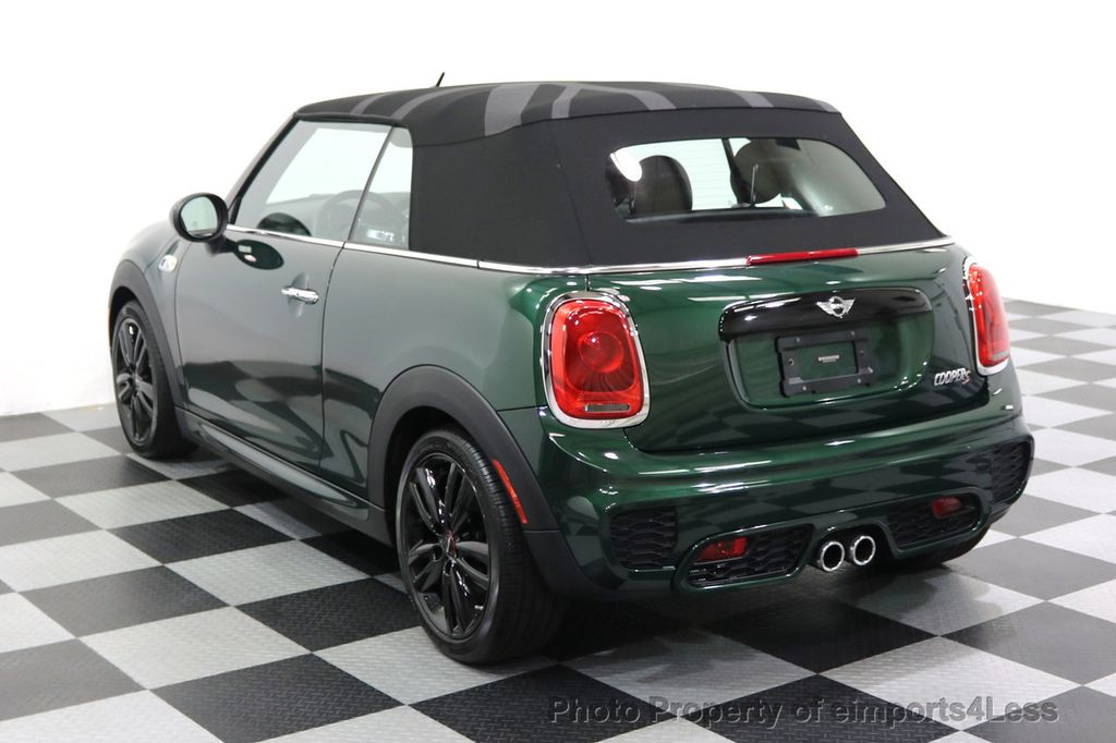 2016 MINI Cooper S Convertible CERTIFIED COOPER S John Cooper Works Package - 17906800 - 29