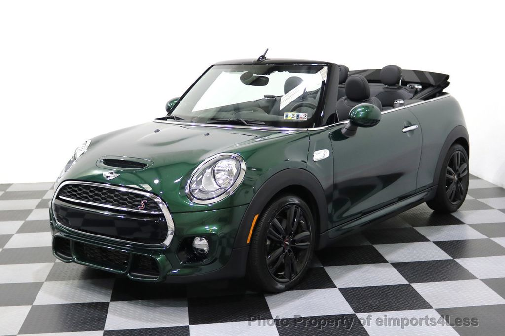 2016 MINI Cooper S Convertible CERTIFIED COOPER S John Cooper Works Package - 17906800 - 43