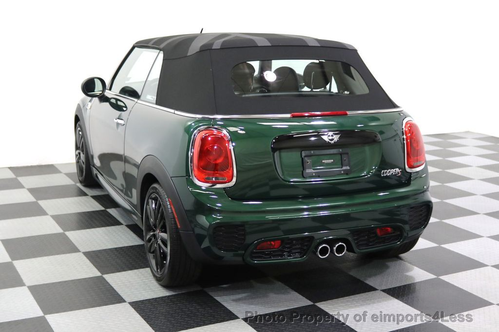 2016 MINI Cooper S Convertible CERTIFIED COOPER S John Cooper Works Package - 17906800 - 45