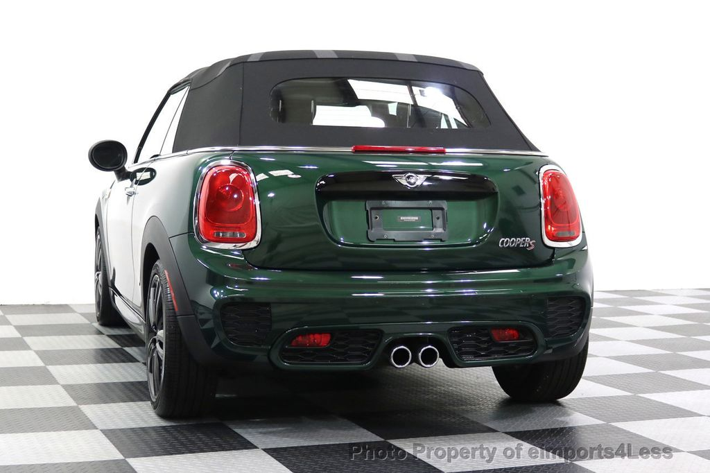 2016 MINI Cooper S Convertible CERTIFIED COOPER S John Cooper Works Package - 17906800 - 53