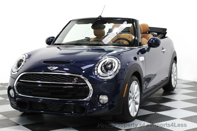 Used Mini Cooper Convertible >> 2016 Used Mini Cooper S Convertible Certified Mini Cooper S Cabrio Jcw Tech Navi At Eimports4less Serving Doylestown Bucks County Pa Iid 16176297