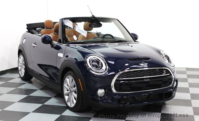 2016 used mini cooper s convertible certified mini cooper s cabrio jcw tech navi at. Black Bedroom Furniture Sets. Home Design Ideas