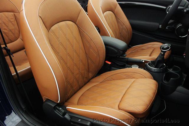 2016 Mini Cooper S Convertible Certified Cabrio Jcw Tech Navi 16176297