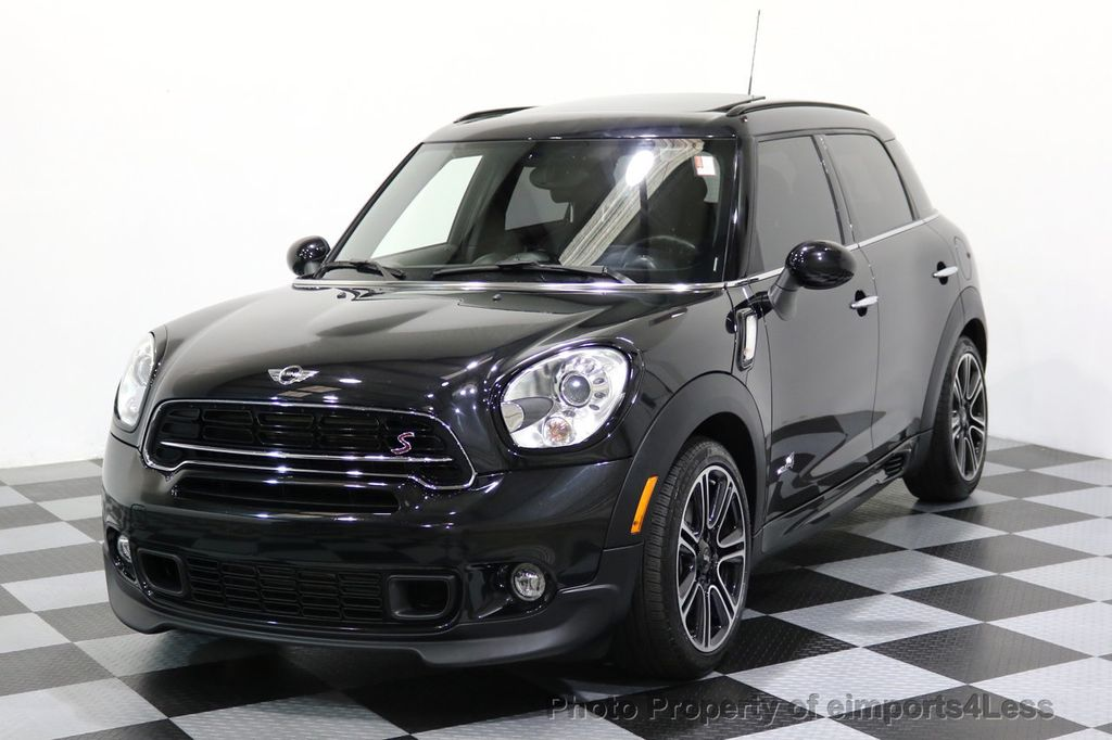 2016 used mini cooper s countryman certified countryman all4 awd jcw package at eimports4less. Black Bedroom Furniture Sets. Home Design Ideas