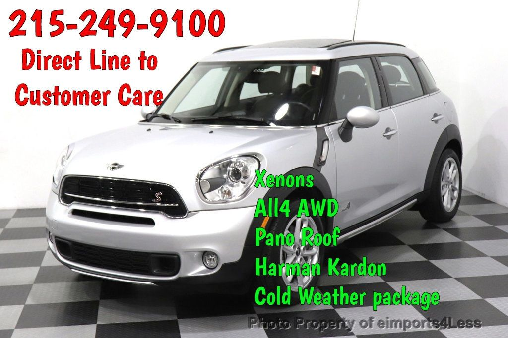 2016 MINI Cooper S Countryman CERTIFIED COUNTRYMAN ALL4 AWD XENON COLD PREMIUM - 18518143 - 0