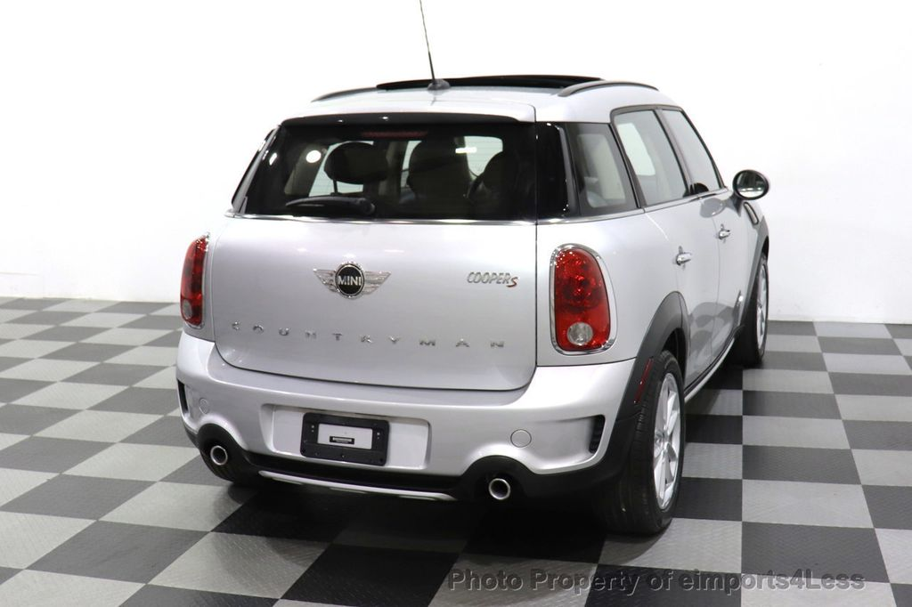 2016 MINI Cooper S Countryman CERTIFIED COUNTRYMAN ALL4 AWD XENON COLD PREMIUM - 18518143 - 24
