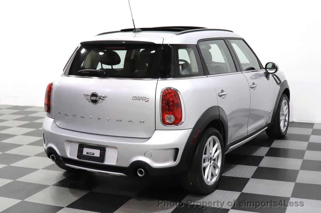 2016 MINI Cooper S Countryman CERTIFIED COUNTRYMAN ALL4 AWD XENON COLD PREMIUM - 18518143 - 37