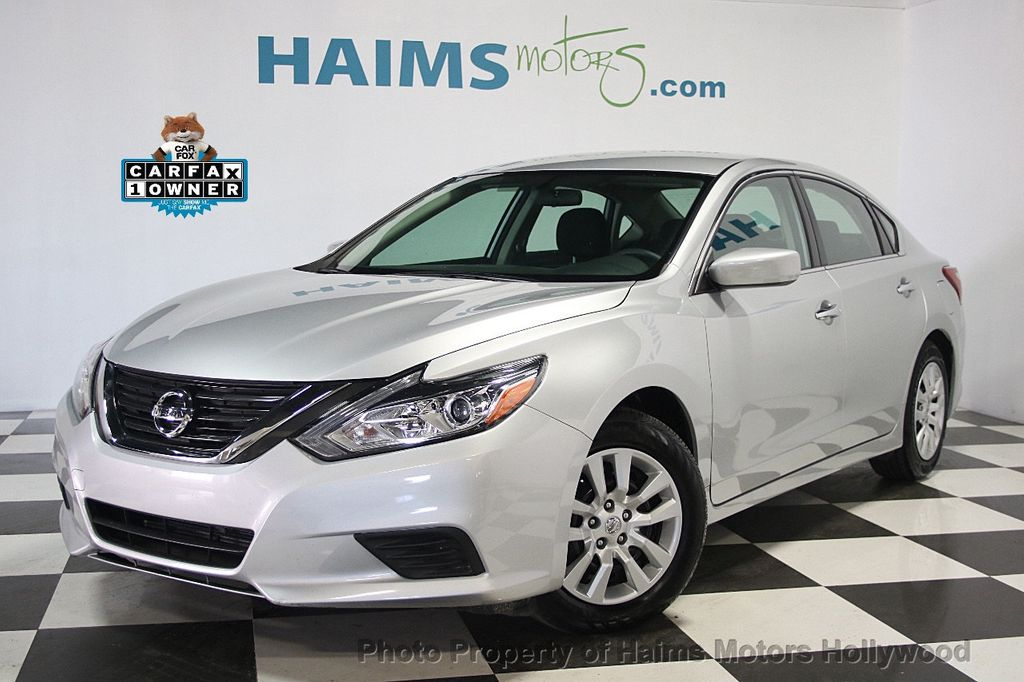 2016 used nissan altima 4dr sedan i4 2 5 sv at haims motors serving fort lauderdale hollywood. Black Bedroom Furniture Sets. Home Design Ideas