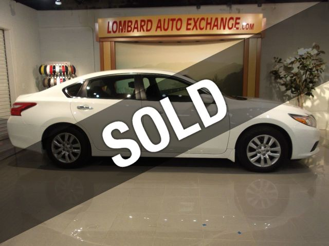 2016 Used Nissan Altima 2 5 S Back Up Camera Bluetooth Power Driver Seat At Lombard Auto Exchange Serving Addison Il Iid 18406747
