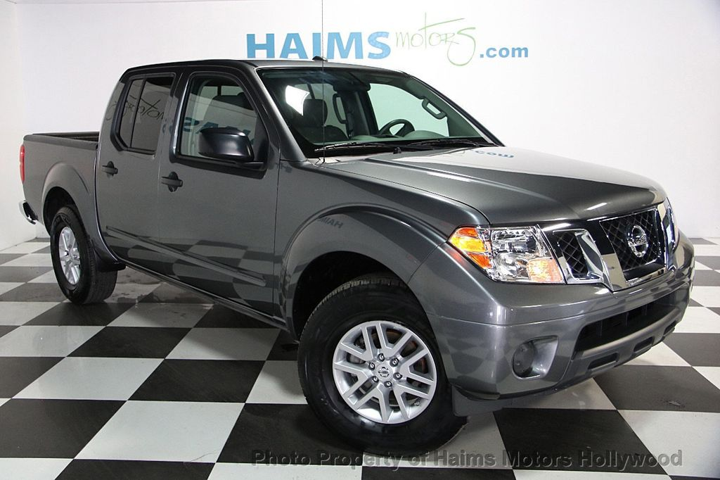 2016 used nissan frontier 2wd crew cab lwb automatic sv at haims motors ft lauderdale serving. Black Bedroom Furniture Sets. Home Design Ideas