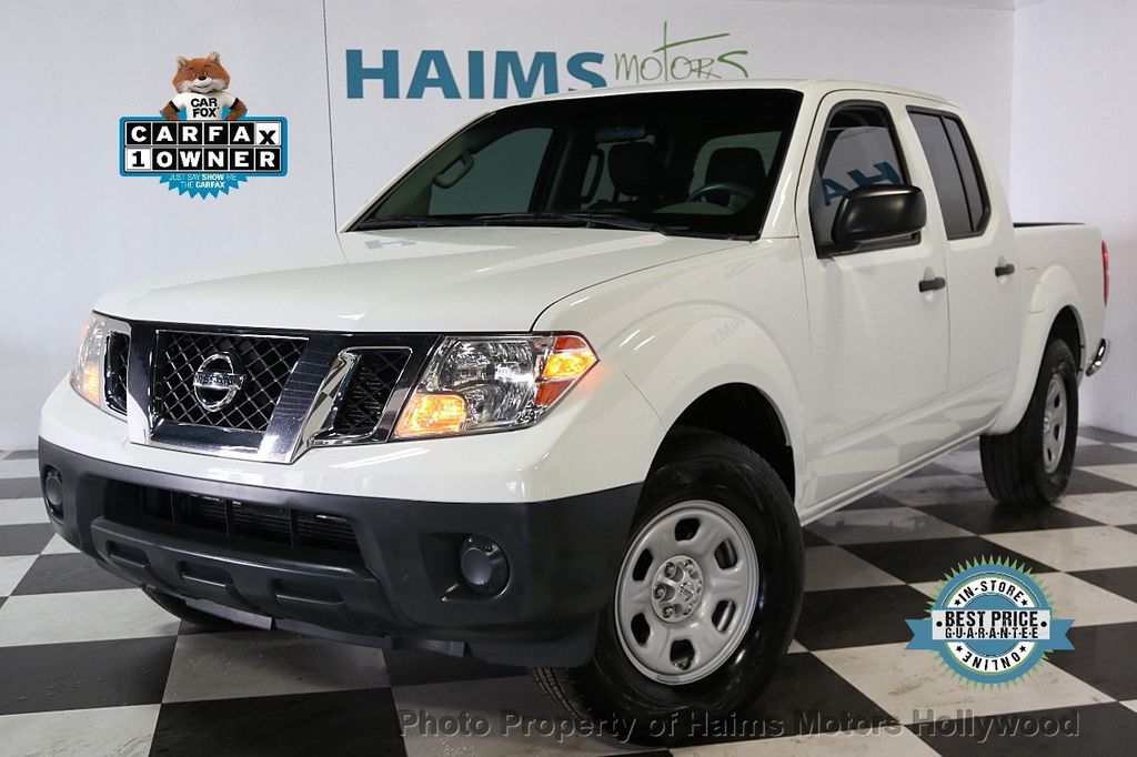 2016 Nissan Frontier 2WD Crew Cab SWB Automatic S - 17647380 - 0