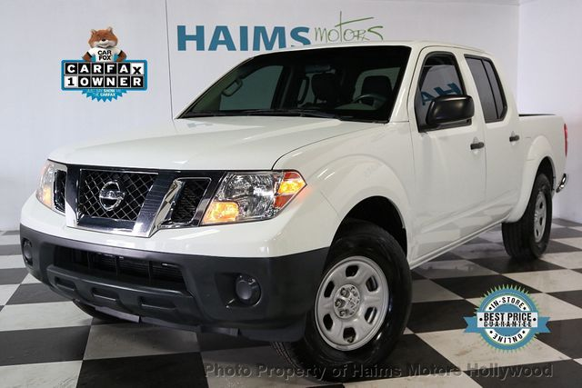 2016 Nissan Frontier 2wd Crew Cab