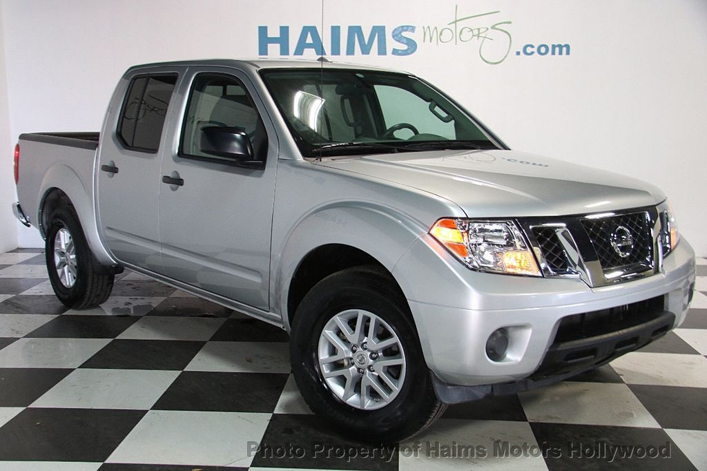 2016 used nissan frontier 2wd crew cab swb automatic sv at haims