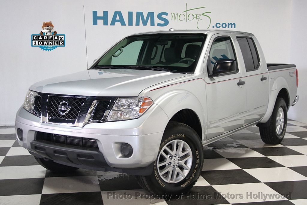 2016 Nissan Frontier 4WD Crew Cab LWB Automatic SL - 16775292 - 0