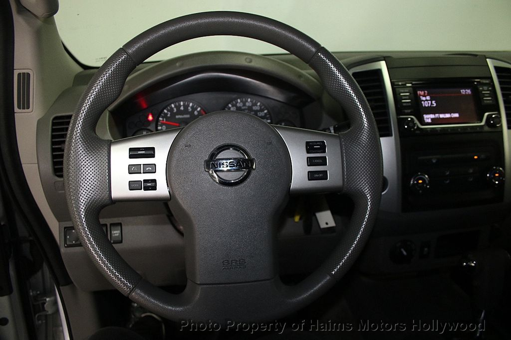 2016 Nissan Frontier 4WD Crew Cab LWB Automatic SL - 16775292 - 27
