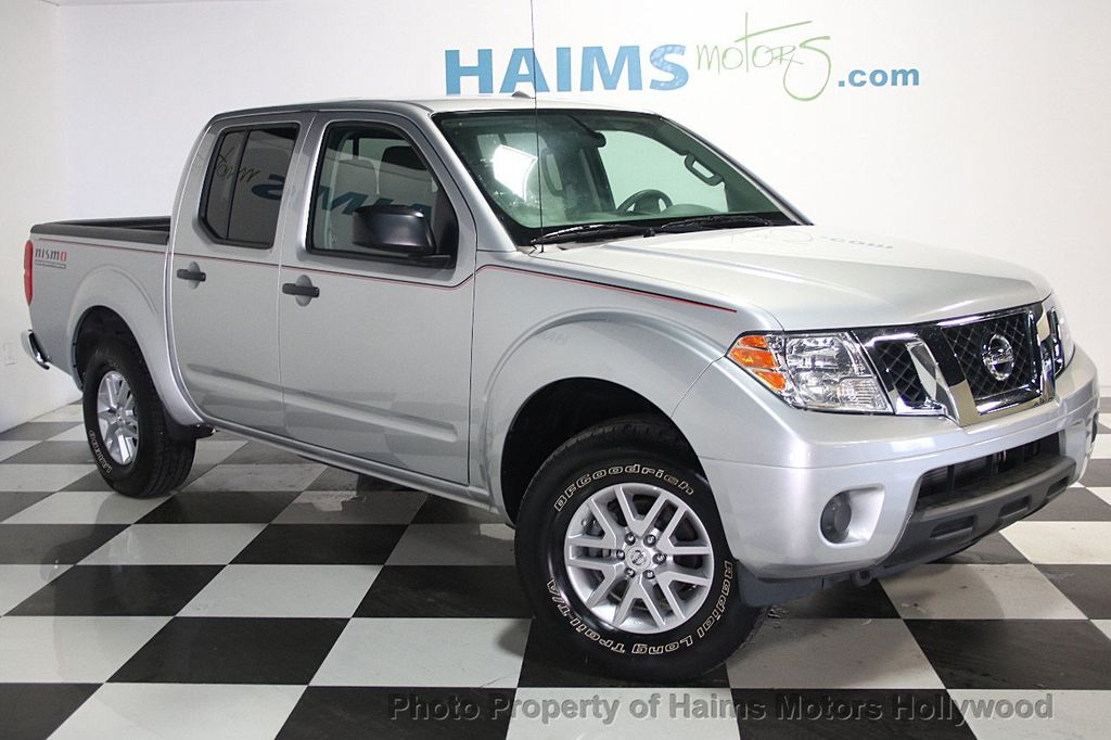 2016 used nissan frontier 4wd crew cab lwb automatic sl at haims motors serving fort lauderdale. Black Bedroom Furniture Sets. Home Design Ideas
