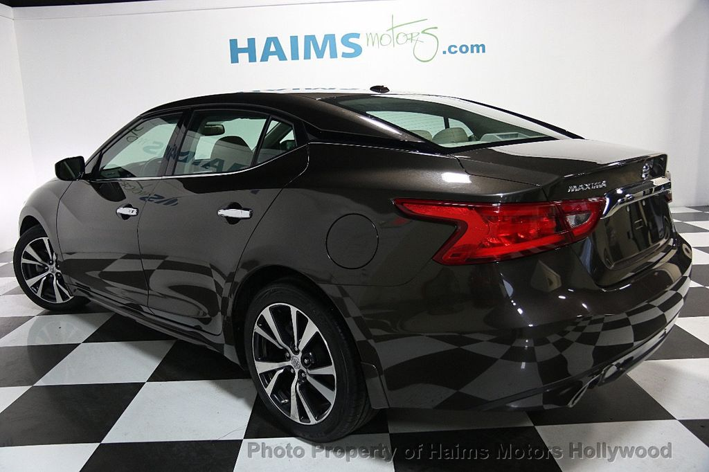 2016 Used Nissan Maxima At Haims Motors Serving Fort