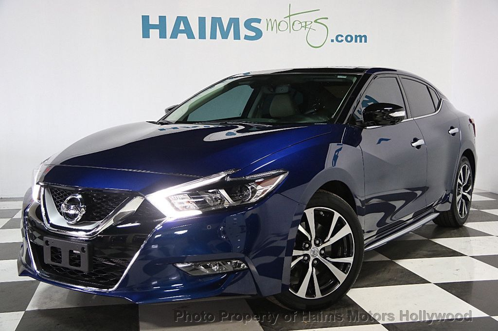 2016 Used Nissan Maxima 4dr Sedan 3.5 Platinum at Haims ...