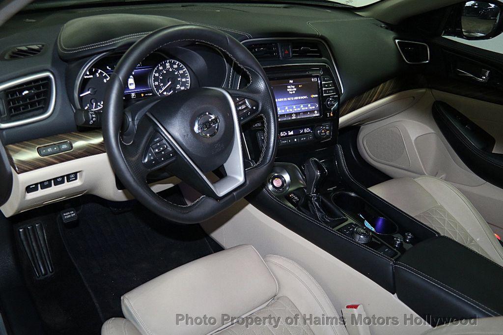 2016 Nissan Maxima 4dr Sedan 3.5 Platinum   16085385   17