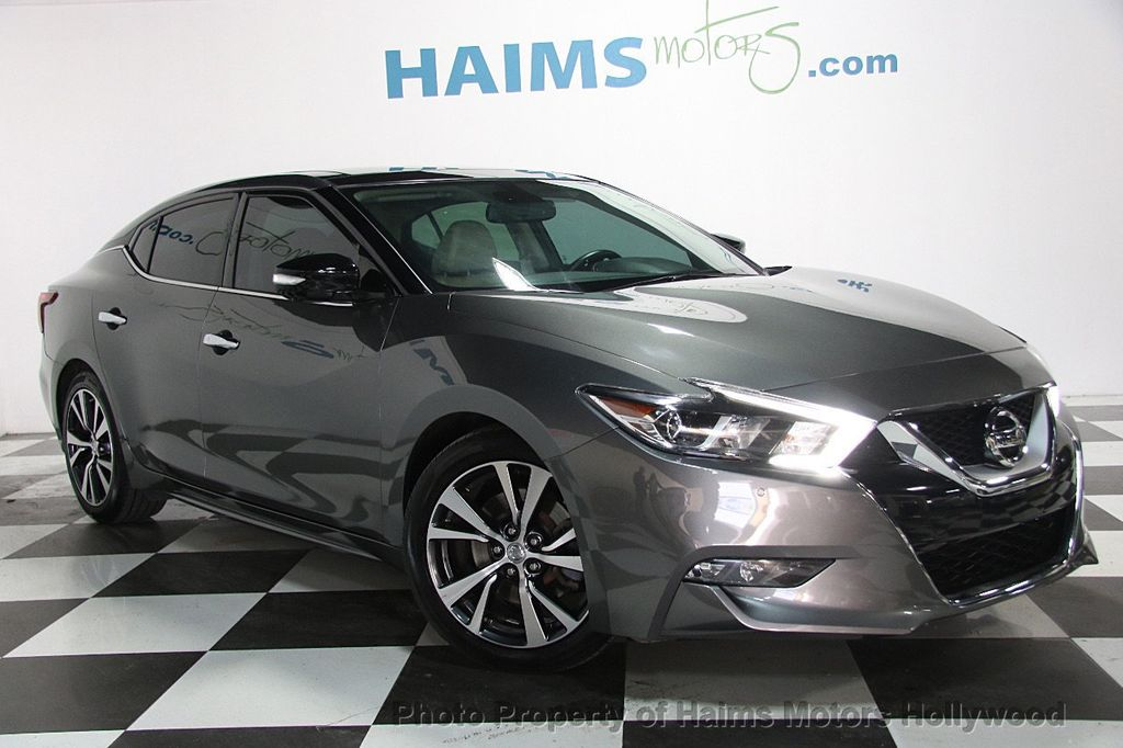 2016 Used Nissan Maxima 4dr Sedan 3 5 Platinum At Haims
