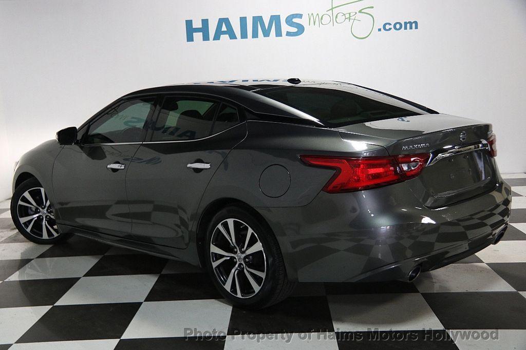 2016 Used Nissan Maxima 4dr Sedan 3 5 Platinum At Haims