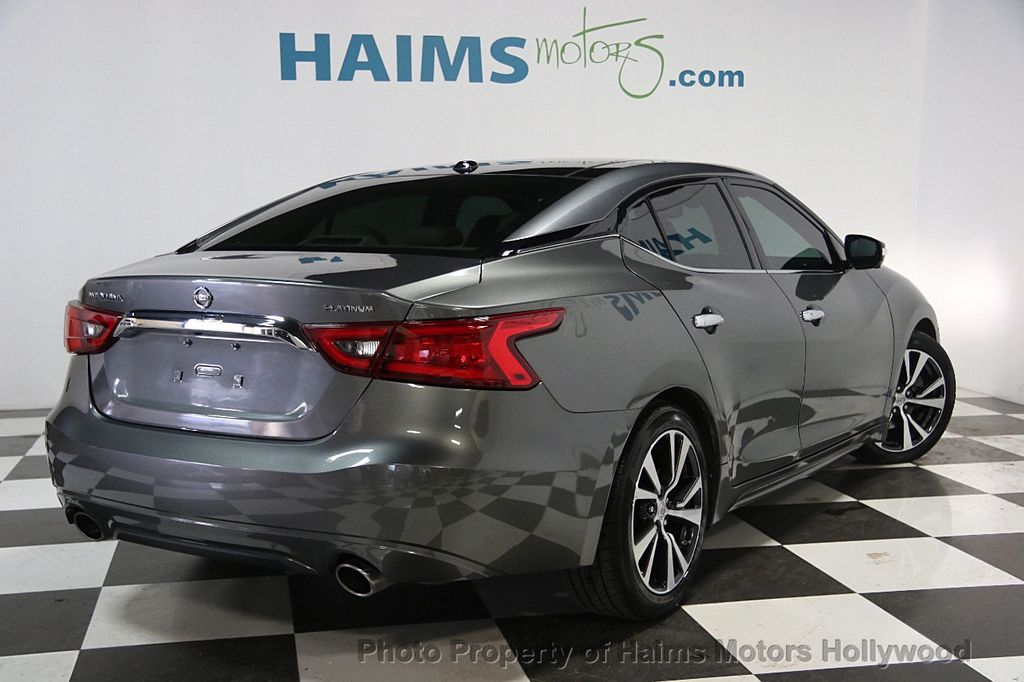 2016 Used Nissan Maxima 4dr Sedan 3 5 Platinum At Haims Motors Serving Fort Lauderdale
