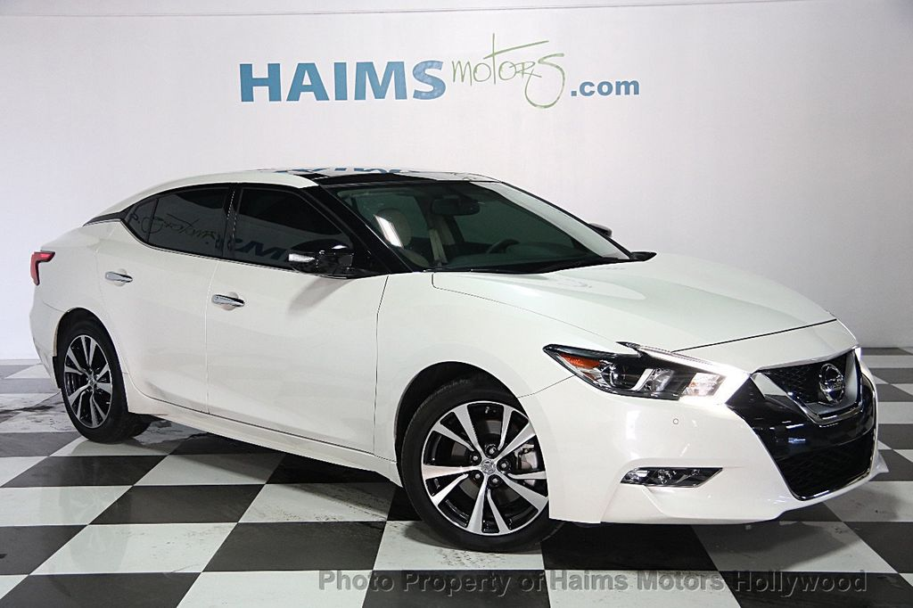 2016 Used Nissan Maxima 4dr Sedan 3 5 Sl At Haims Motors