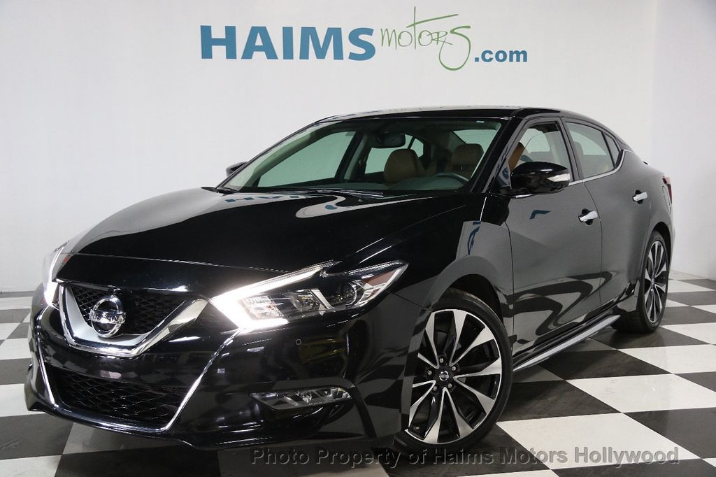 2016 used nissan maxima 4dr sedan 3 5 sr at haims motors serving fort lauderdale hollywood. Black Bedroom Furniture Sets. Home Design Ideas