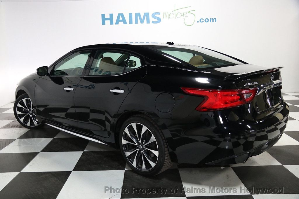 2016 Used Nissan Maxima 4dr Sedan 3 5 Sr At Haims Motors