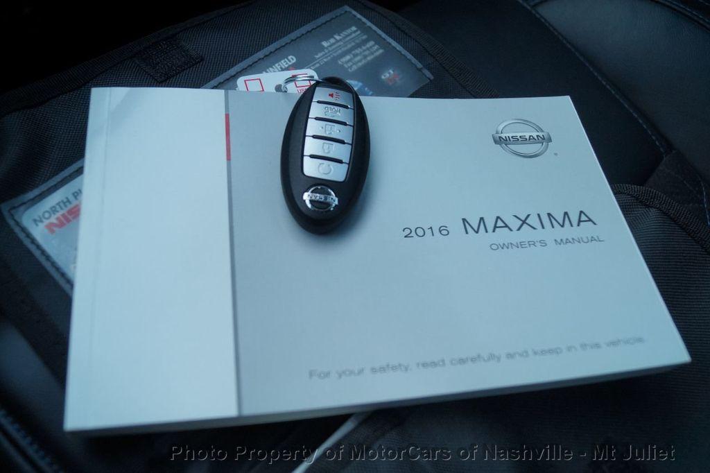 2016 Nissan Maxima 4dr Sedan 3.5 SR - 17900763 - 49