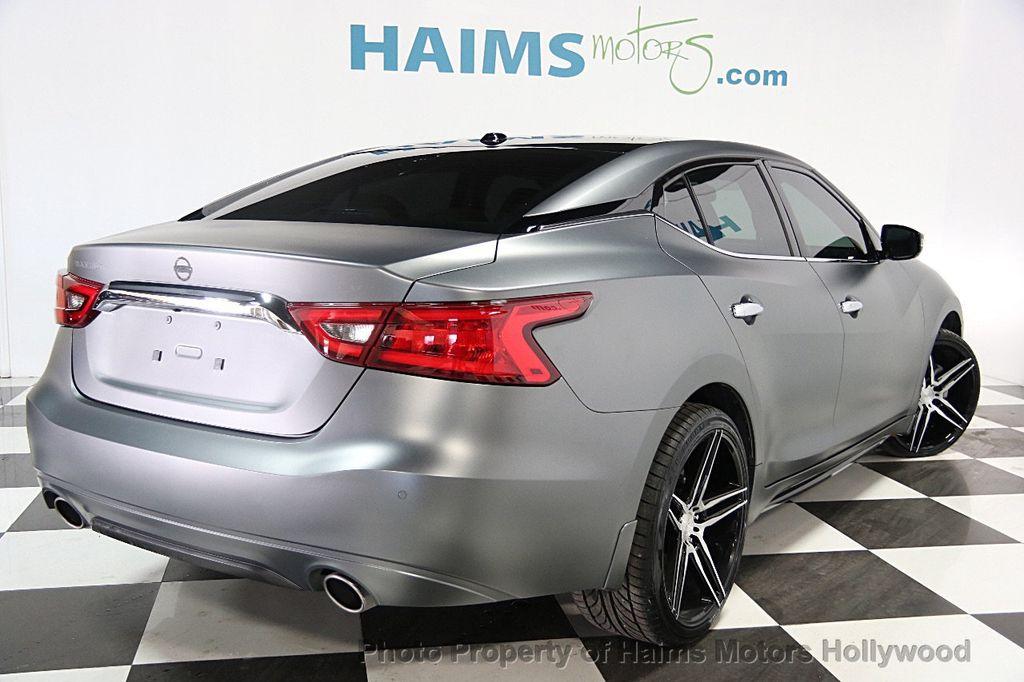 2016 Used Nissan Maxima 4dr Sedan 3 5 Sv At Haims Motors