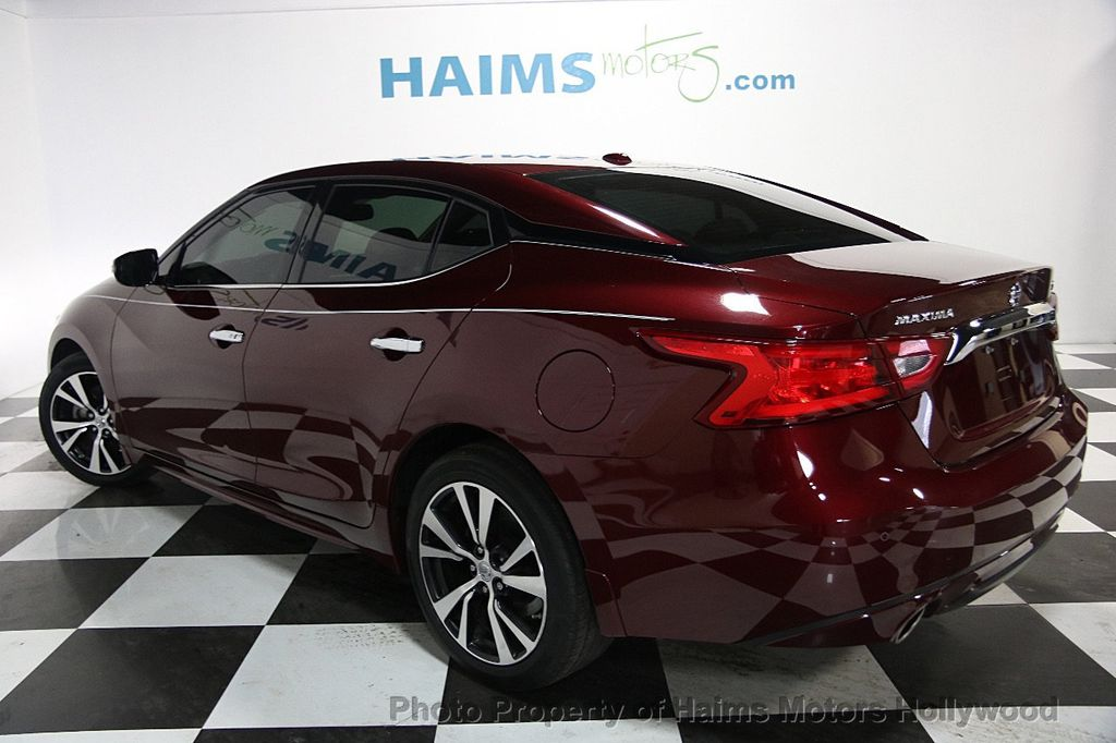 2016 Used Nissan Maxima 4dr Sedan 3 5 Sv At Haims Motors