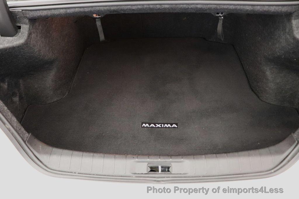 2016 Nissan Maxima CERTIFIED MAXIMA 3.5 SV NAV CAMERA - 18561274 - 22