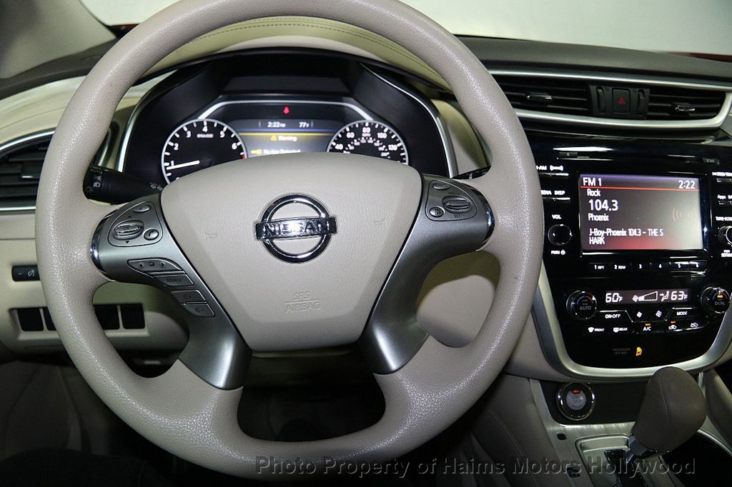 2016 Nissan Murano FWD 4dr SL - 16487280 - 24