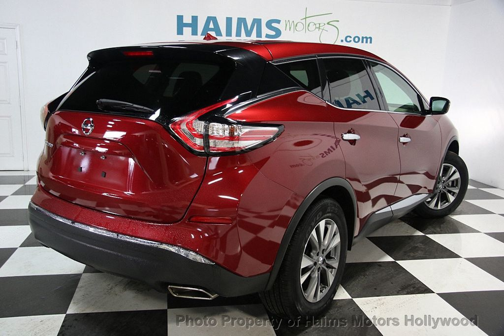 2016 used nissan murano fwd 4dr sl at haims motors serving fort lauderdale hollywood miami fl. Black Bedroom Furniture Sets. Home Design Ideas