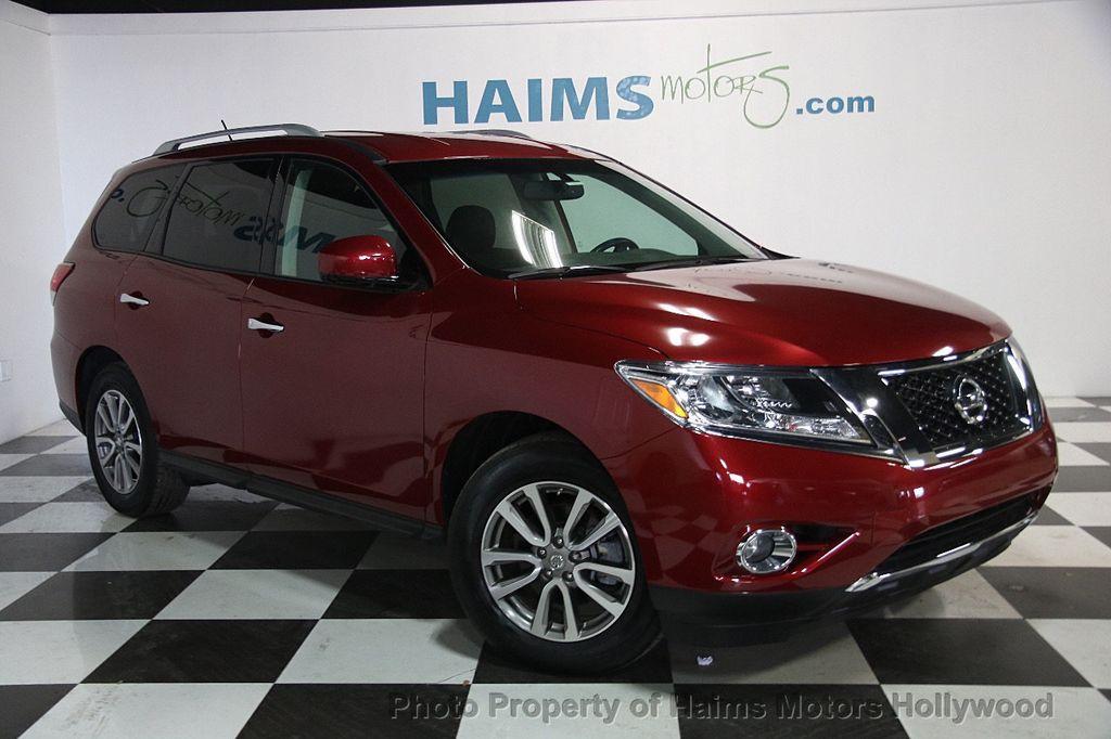 2016 Used Nissan Pathfinder 2wd 4dr Sv At Haims Motors