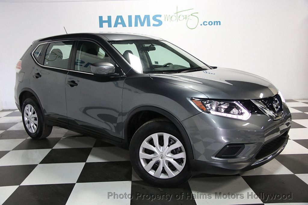 2016 used nissan rogue awd 4dr s at haims motors serving fort lauderdale hollywood miami fl. Black Bedroom Furniture Sets. Home Design Ideas